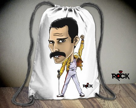 Mochila Saco Mitos do Rock Freddie Mercury