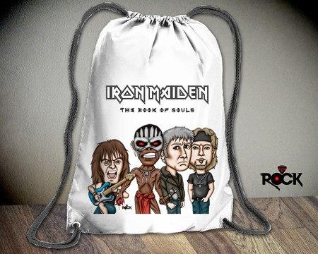 Mochila Saco Mitos do Rock Iron Maiden 2016