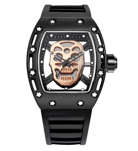 Relógio Caveira Screws II – SkullAchando