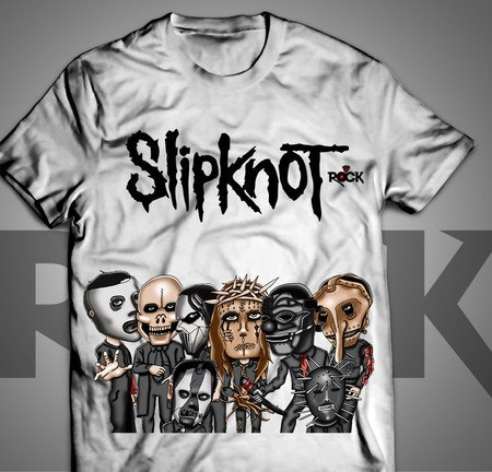 Camiseta Exclusiva Mitos do Rock Slipknot
