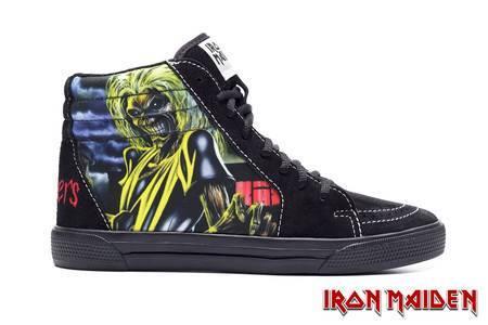 Tênis BandShoes Feminino Iron Maiden Killers