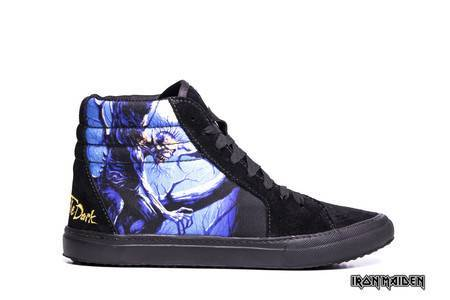 Tênis BandShoes Masculino Iron Maiden Fear Of The Dark