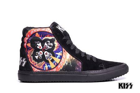 Tênis BandShoes Masculino Kiss Rock And Roll Over