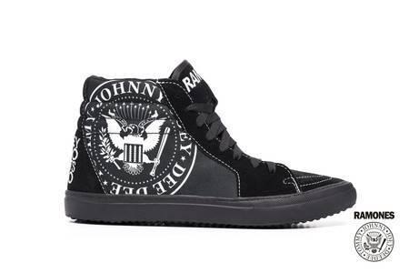 Tênis BandShoes Masculino Sk8-Hi Ramones