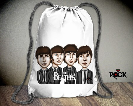 Mochila Saco Mitos do Rock The Beatles