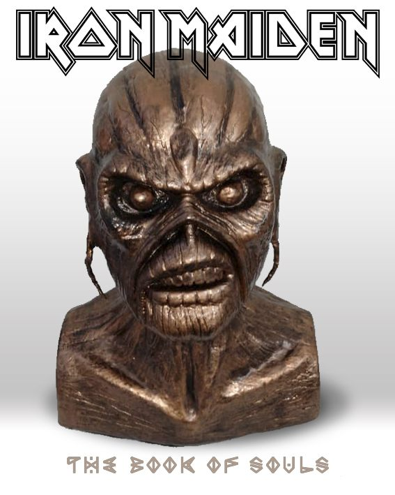 Iron Maiden - Busto Eddie Cobre - The Book Of Souls - Mr. Rock