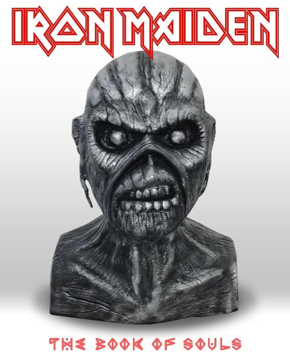 Iron Maiden - Busto Eddie Prata - The Book Of Souls - Mr. Rock