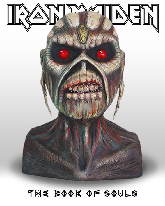 Iron Maiden - Busto Eddie - The Book Of Souls - Mr. Rock