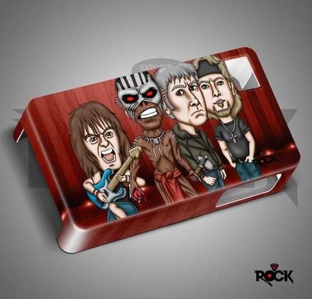 Capa de Celular Exclusiva Mitos do Rock Iron Maiden