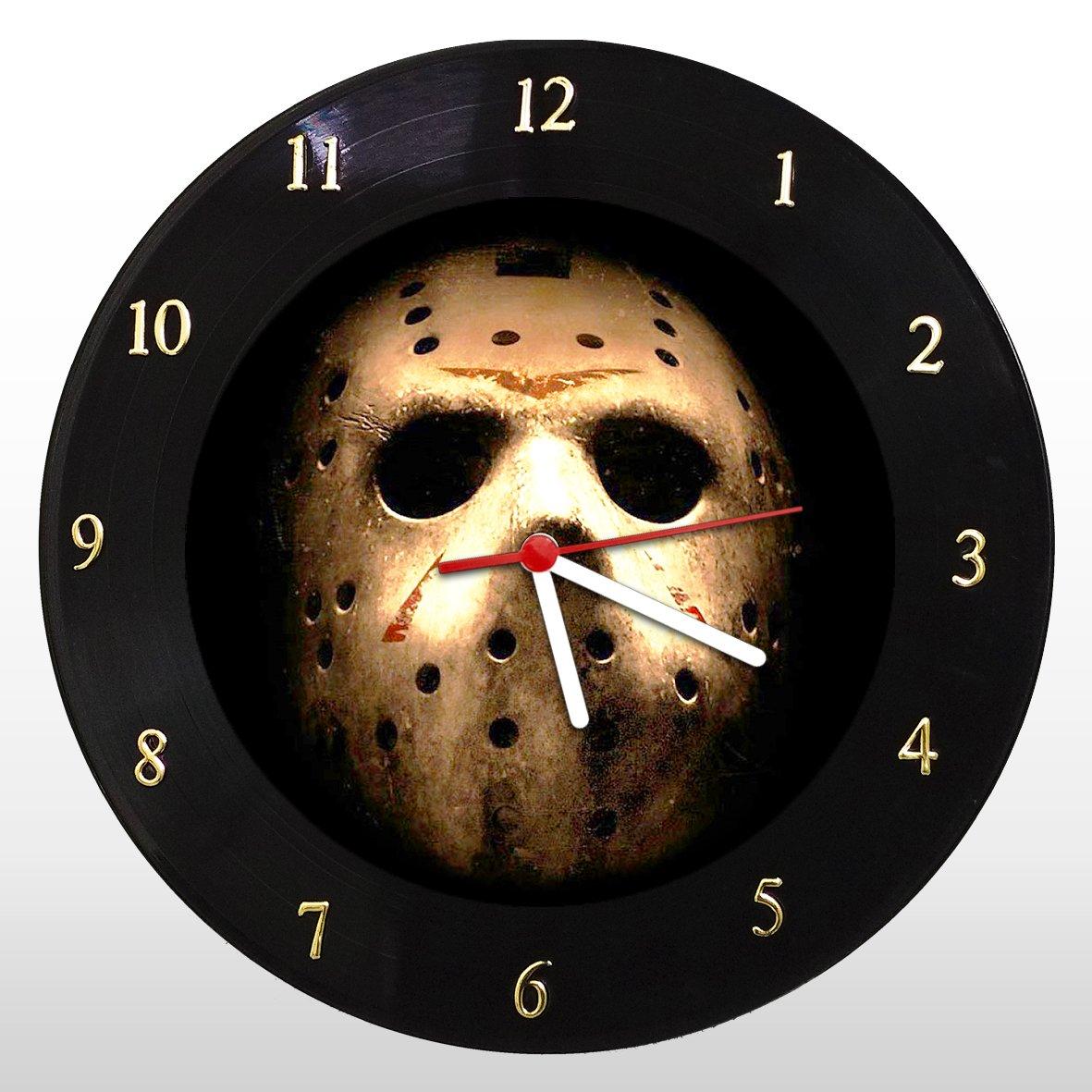 Jason Vorhees - Relógio de Parede em Disco de Vinil - Mr. Rock