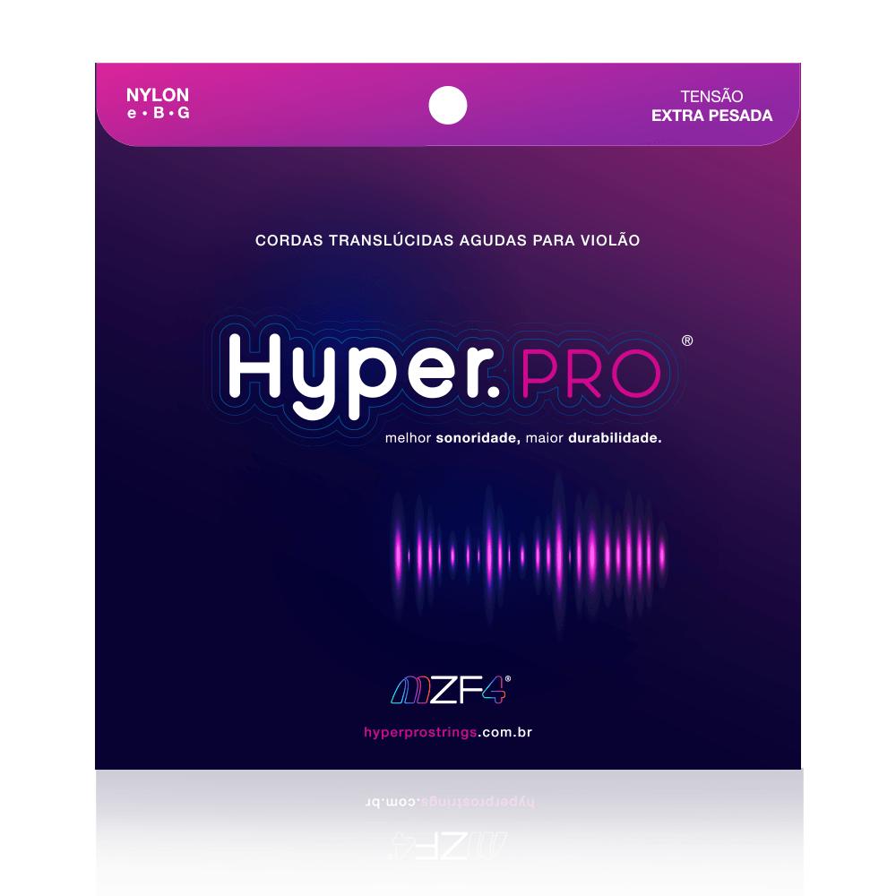 Hyper.PRO - Cordas Agudas para Violão Nylon com Tensão Extra