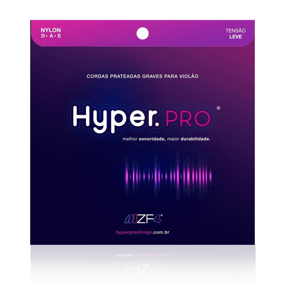 Hyper.PRO - Cordas Graves para Violão Nylon com Tensão Leve