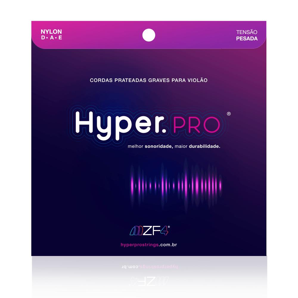 Hyper.PRO - Cordas Graves para Violão Nylon com Tensão Pesada