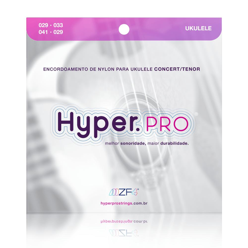 Hyper.PRO com 4 cordas de nylon para Ukulele Concert/Tenor