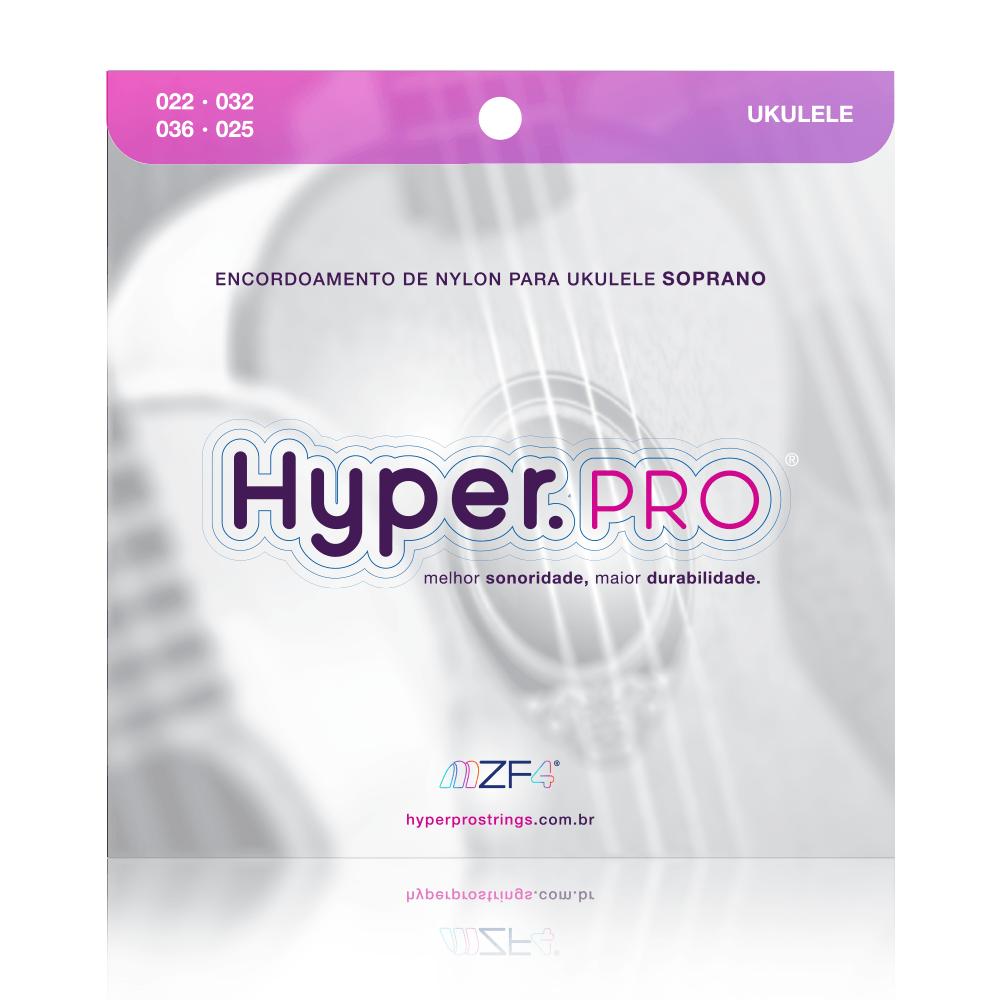 Hyper.PRO com 4 cordas de nylon para Ukulele Soprano