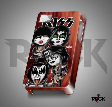 Capa de Celular Exclusiva Mitos do Rock Kiss