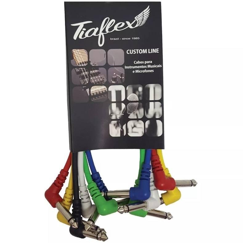 Kit 06 cabos de Pedal Tiaflex CustomLine 0,30cm Tiaflex