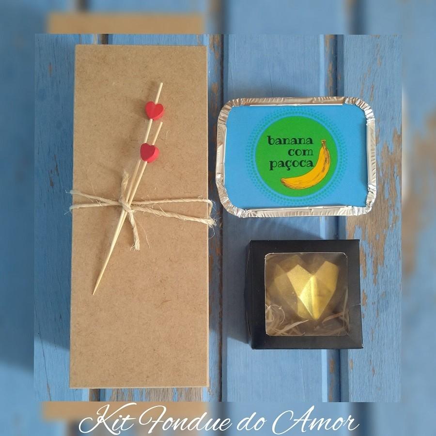 Kit Fondue do Amor