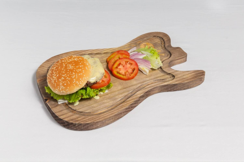 Lanche Rock Salad - Território Rock Burguer