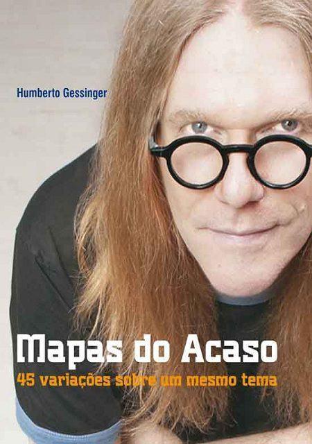 Livro Mapas do Acaso - Editora Belas Letras