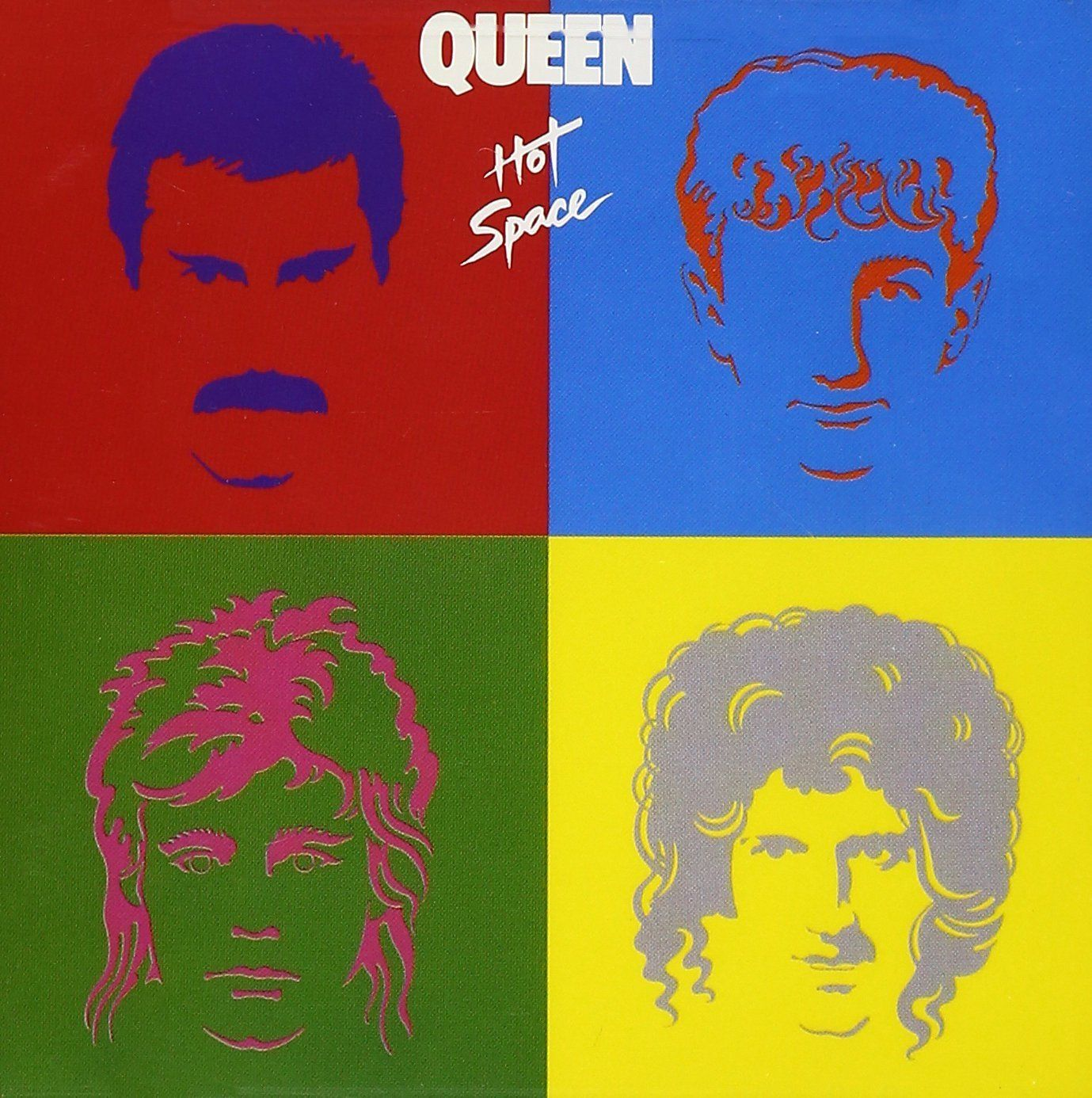 LP Queen - Hot Space - Importado