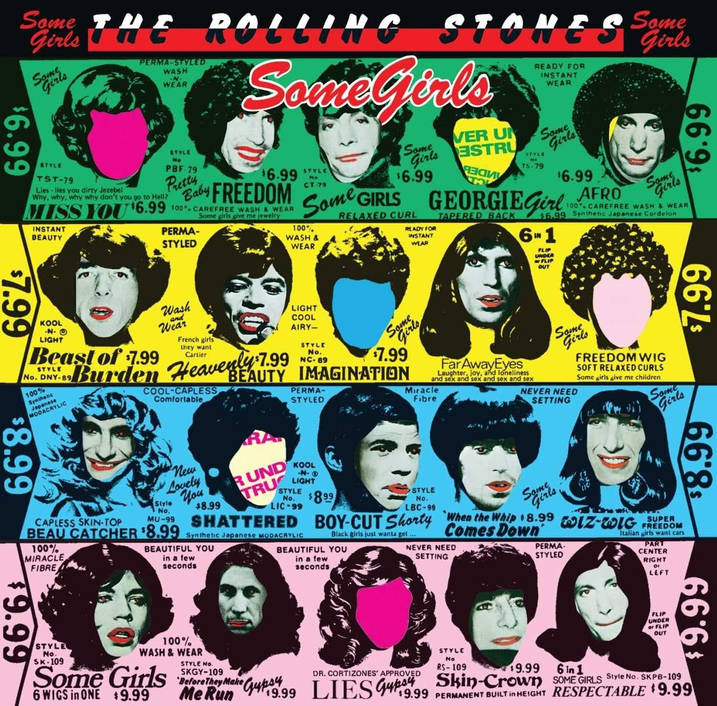 LP Vinil The Rolling Stones - Some Girls - Importado