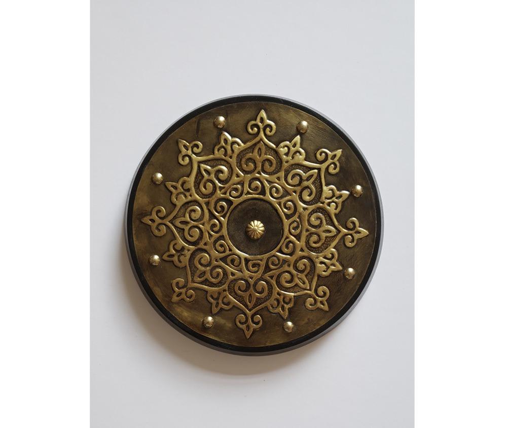 Peça Decorativa Mandala em latão