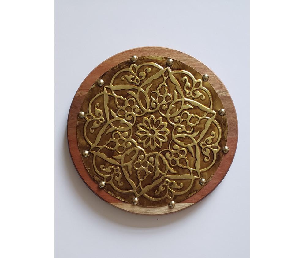 Mandala Estelar decorativa em latão