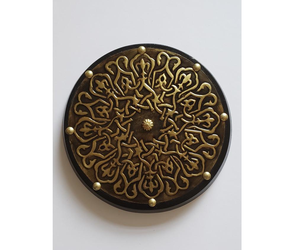 Peça Decorativa Mandala Imperial em latão