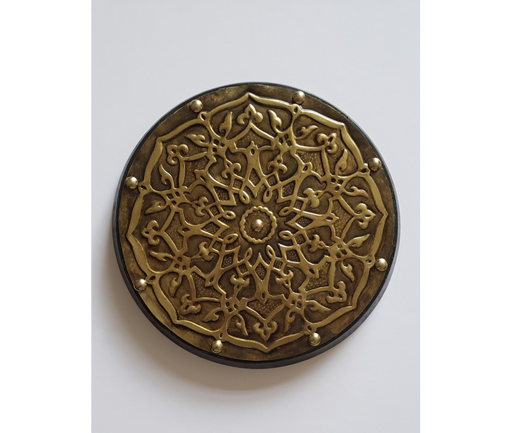 Mandala Real decorativa em latão