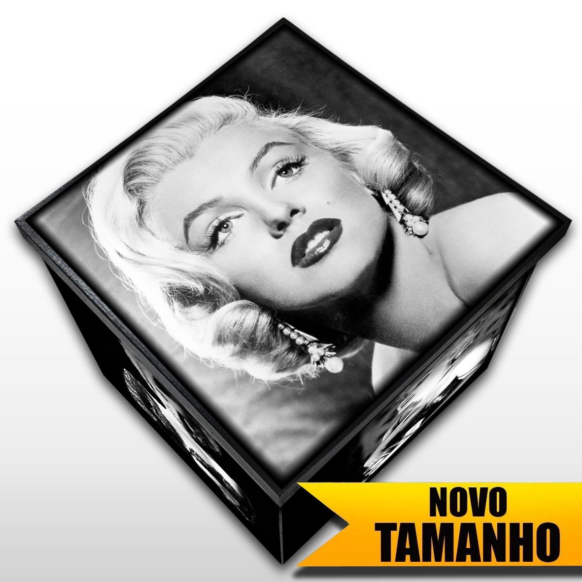 Marilyn Monroe - Caixa em MDF - Tam. Grande - Mr. Rock