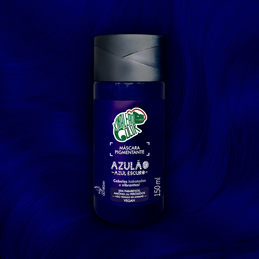 Máscara Pigmentante Azulão Kamaleão Color 150ml