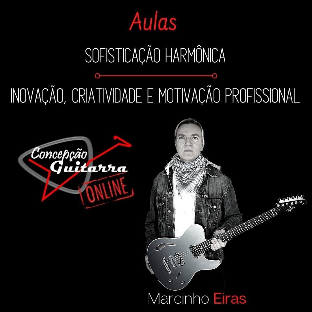 Masterclass de Guitarra ONLINE com o guitarrista Marcinho Eiras