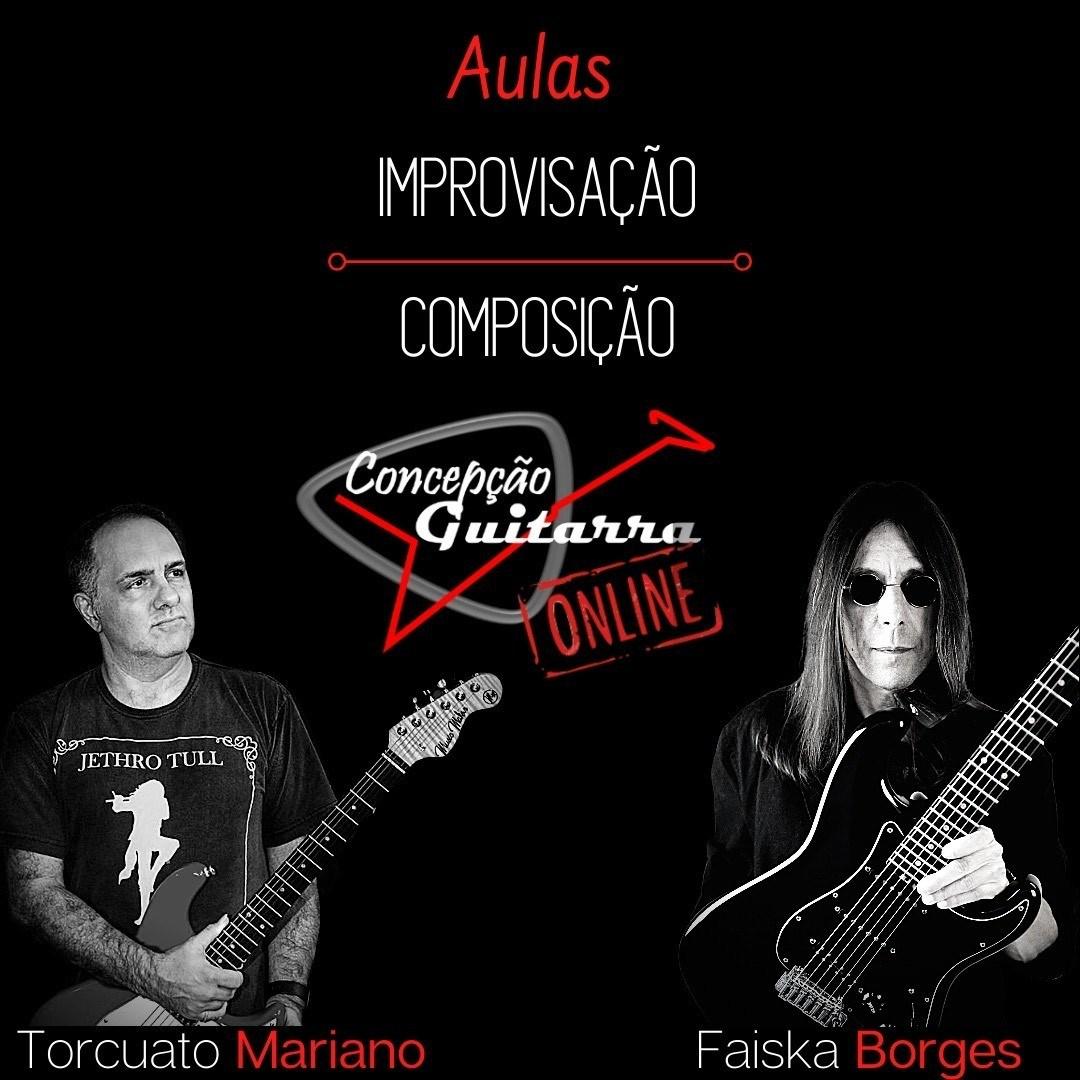 Masterclass de Guitarra ONLINE com os guitarristas Torcuato Mariano e Faiska Borges