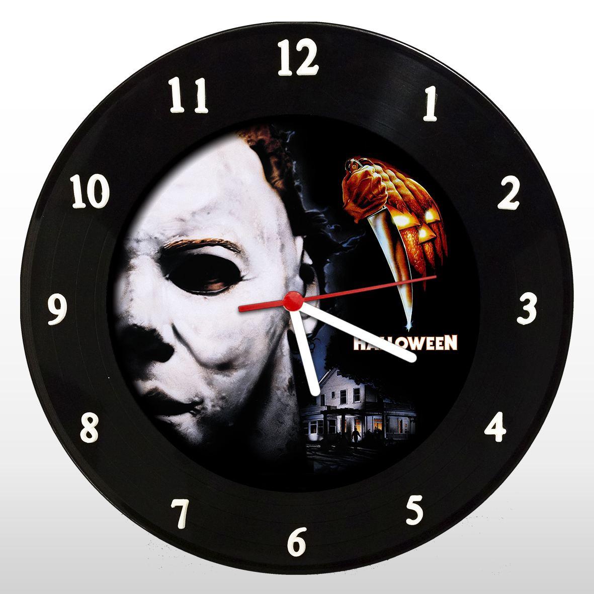 Michael Myers - Relógio de Parede em Disco de Vinil - Mr. Rock