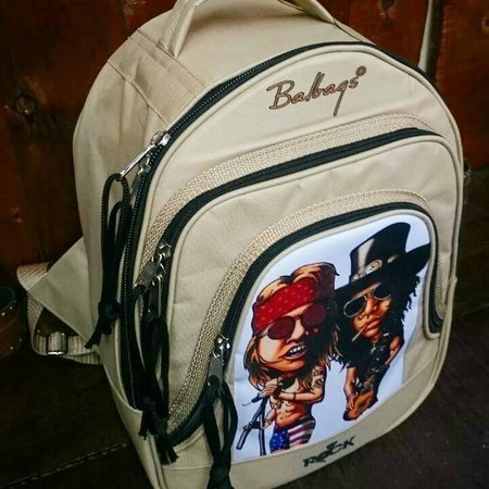 Mochila Personalizada  Mitos do Rock Guns n' Roses