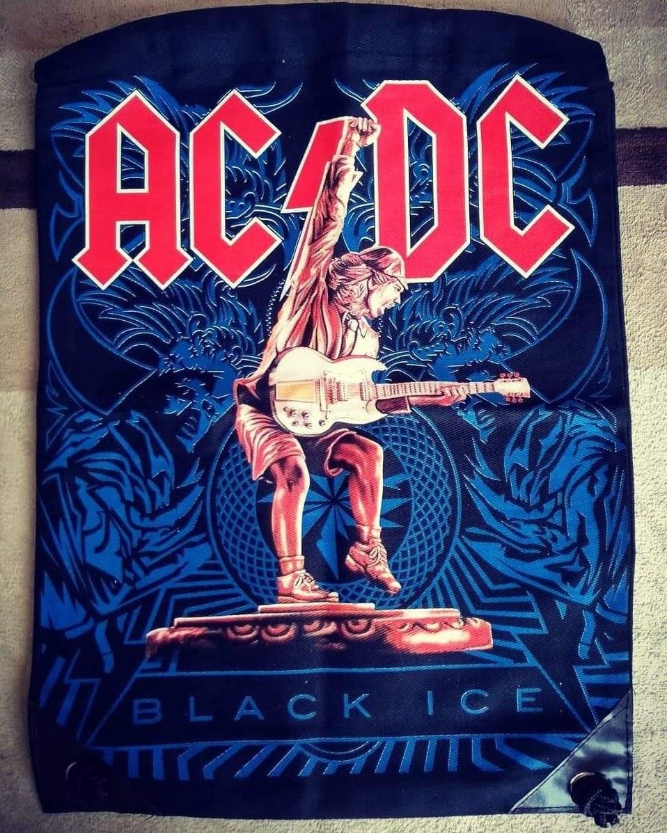 Mochila saco AC DC Black Ice