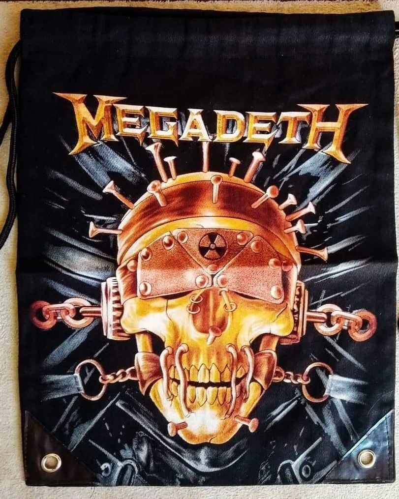 Mochila saco Megadeth