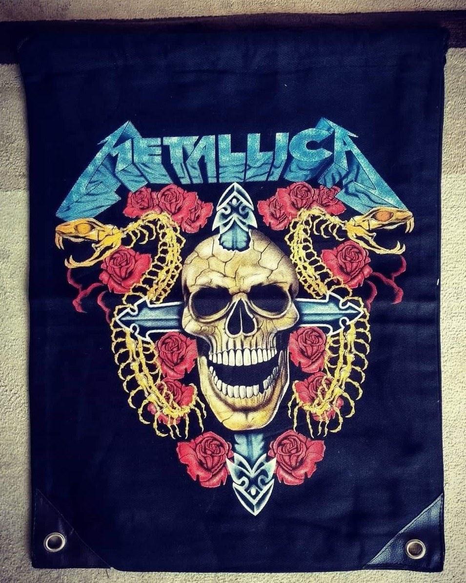 Mochila saco Metallica Importada 1