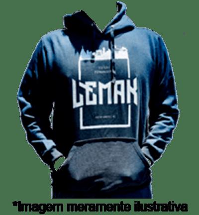 Moletom Estrangeiro - Banda Lemak - Merchandising Oficial