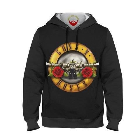 Moletom Unissex Guns N' Roses Logotipo