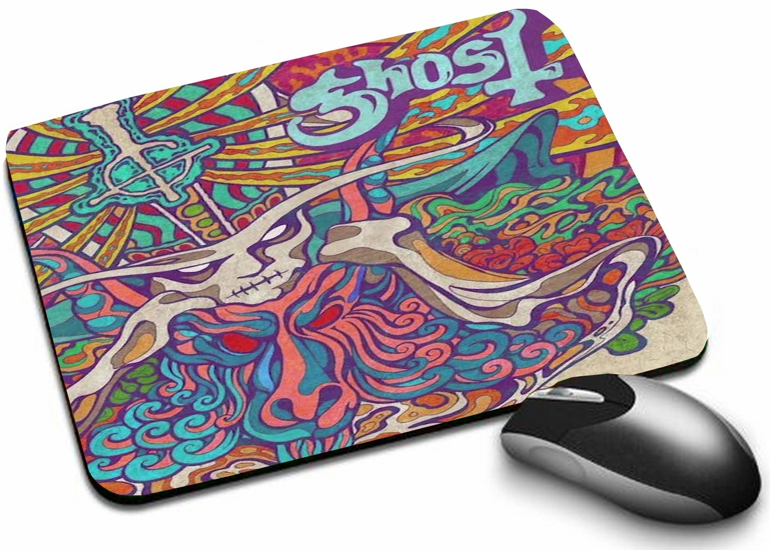 Mousepad Ghost Seven Inches of Satanic Panic