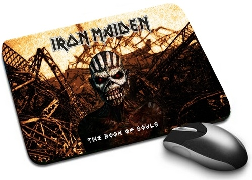 Mousepad Iron Maiden The Book Of Souls