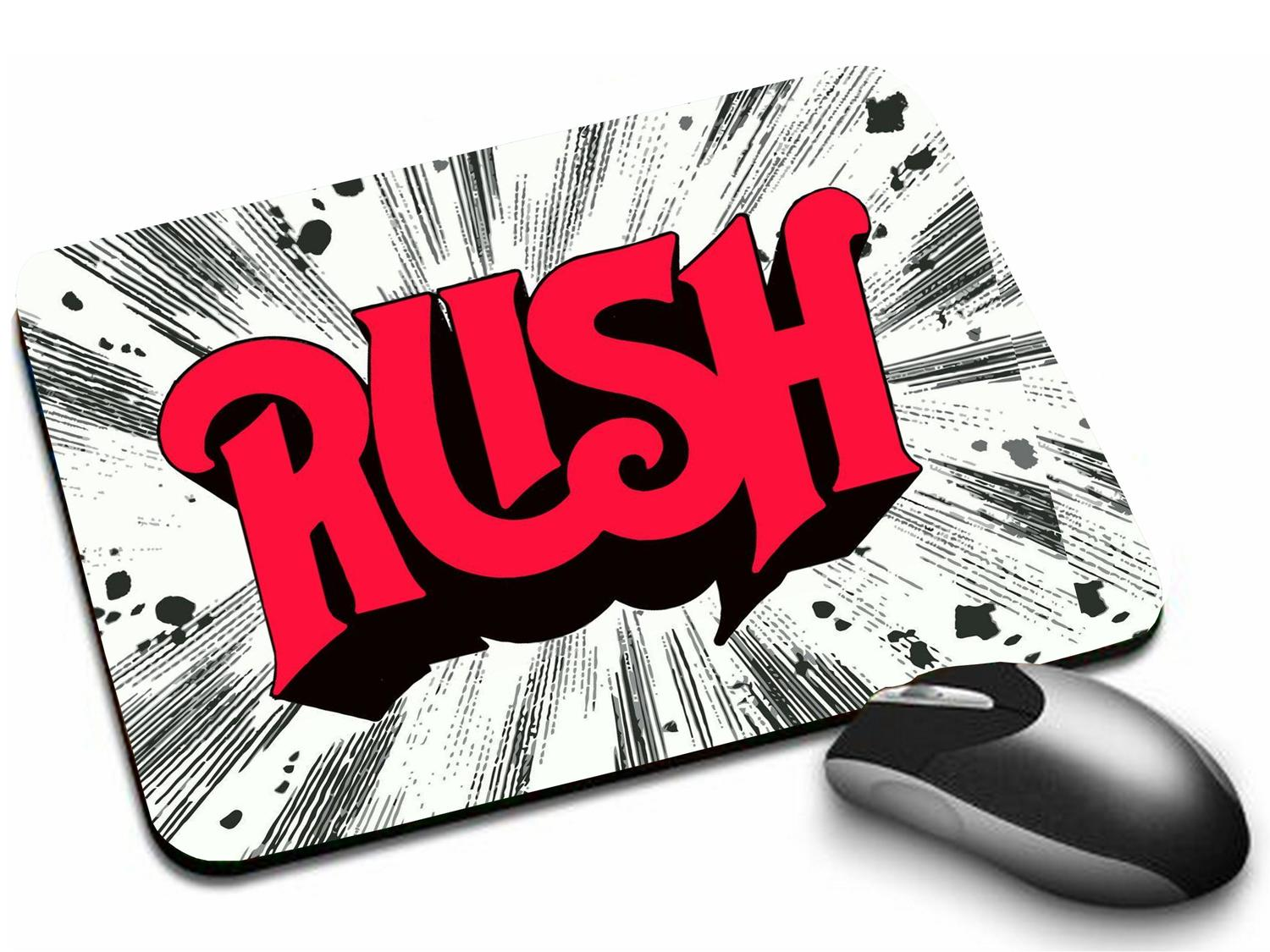 Mousepad Rush Logo