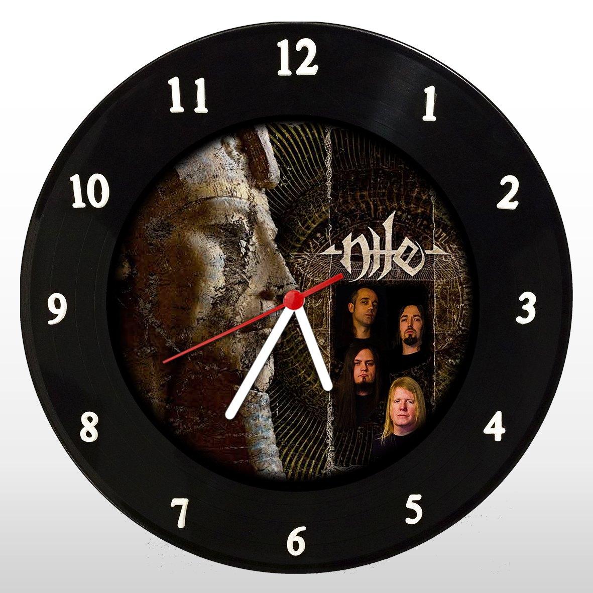 Nile - Relógio de Parede em Disco de Vinil - Mr. Rock