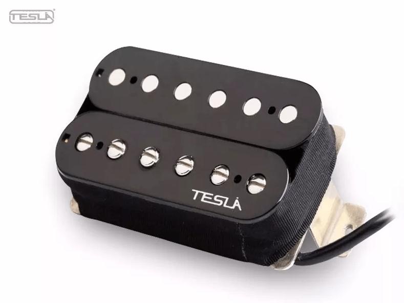 Par de Captador Tesla VR-3 vintage black set