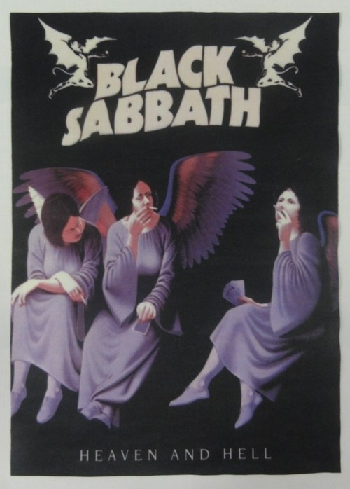 Patch Black Sabbath - Heaven And Hell