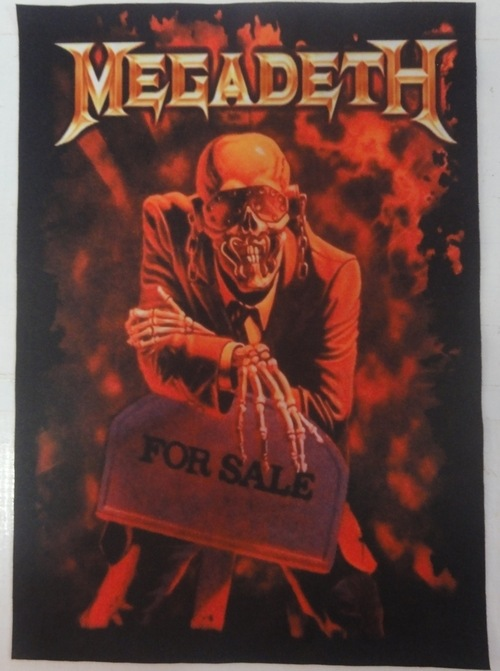 Patch Megadeth - For Sale