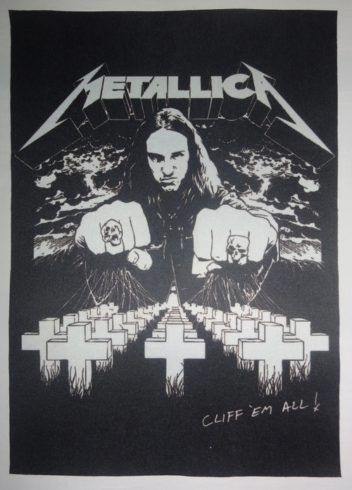 Patch Metallica - Cliff em All