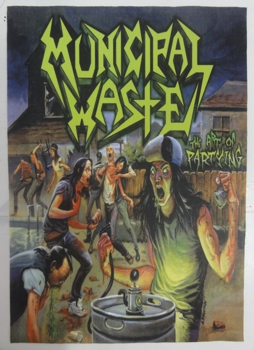 Patch Municipal Waste - The Art of Partying